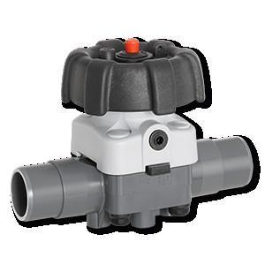 盖米R677 - 盖米R677是一款两位两通手动塑料隔膜阀。设计紧凑,节省安装空间。