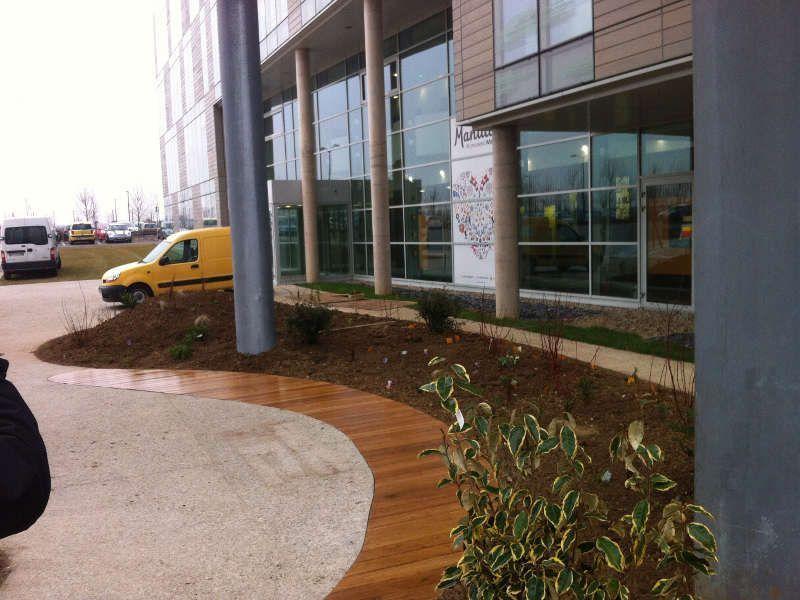 Design de terrasse en bois - Service