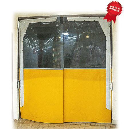 Isopass Impact traffic door - Food industry – Cold room – Supermarket