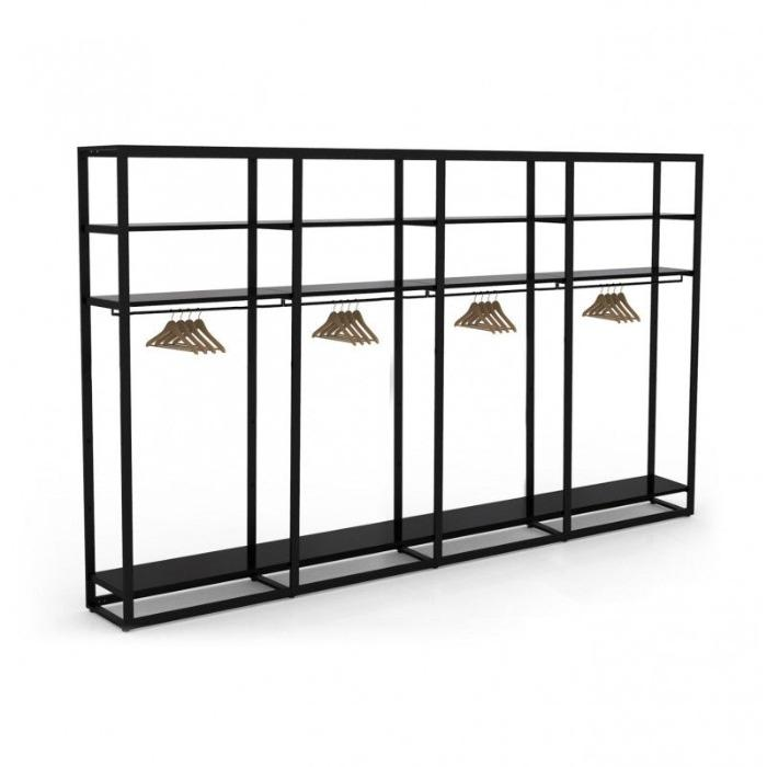 Retail display furnitures - Gondola and shelves racks for stores