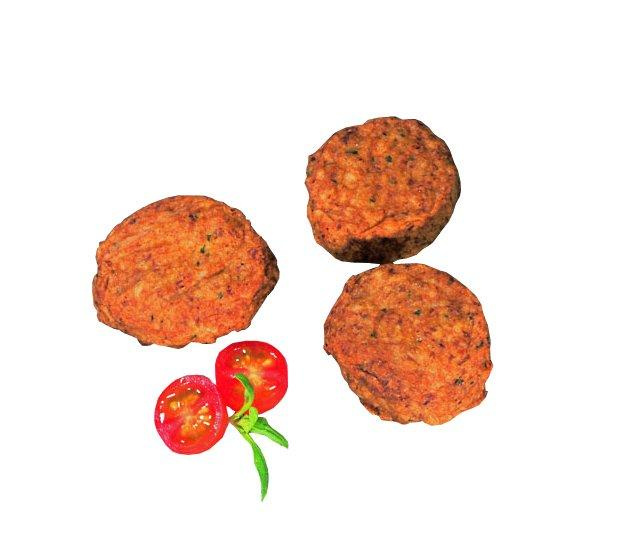 Turkey Mini-Burger - Spicy Mini-Burger made of 100% turkey ready cooked in halal quality from Germany