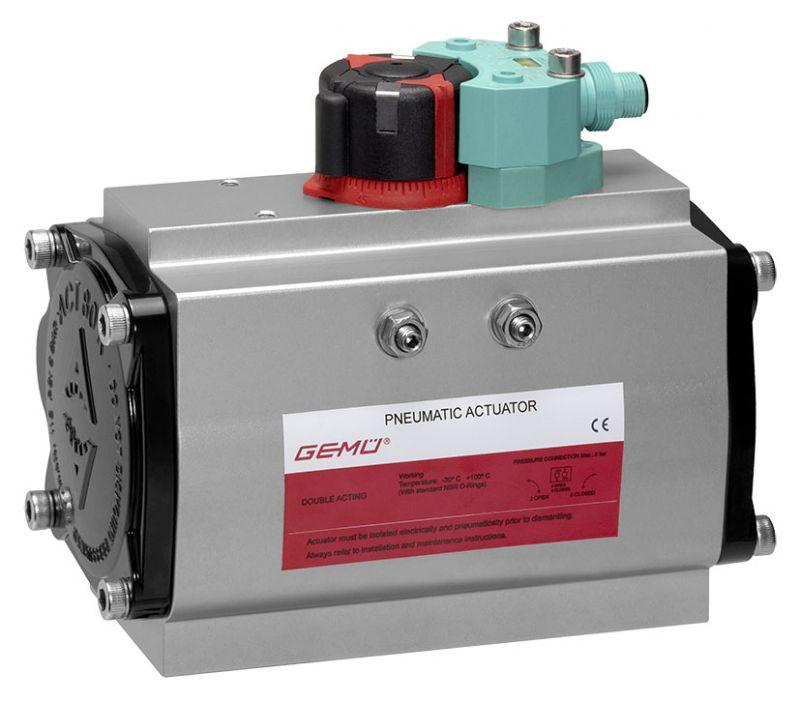 GEMÜ ADA - Attuatore rotativo ad azionamento pneumatico