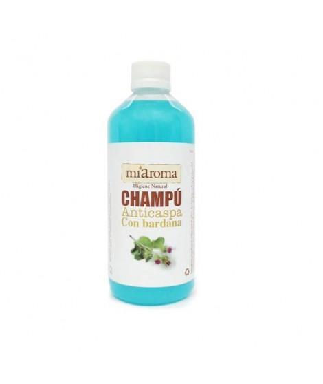 CHAMPU ANTICASPA BARDANA  - Champú muy suave, especialmente formulado para el cuero cabelludo sensible