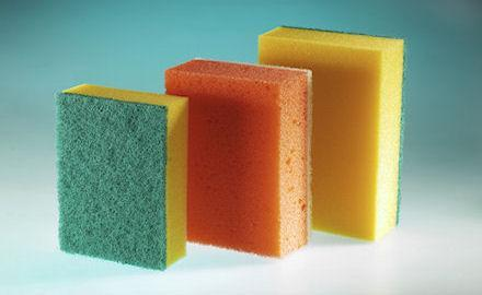 Cleaning products - Scourers in different sizes and qualities