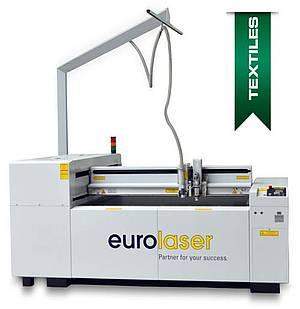 Laser cutting machine for textiles - M-1200