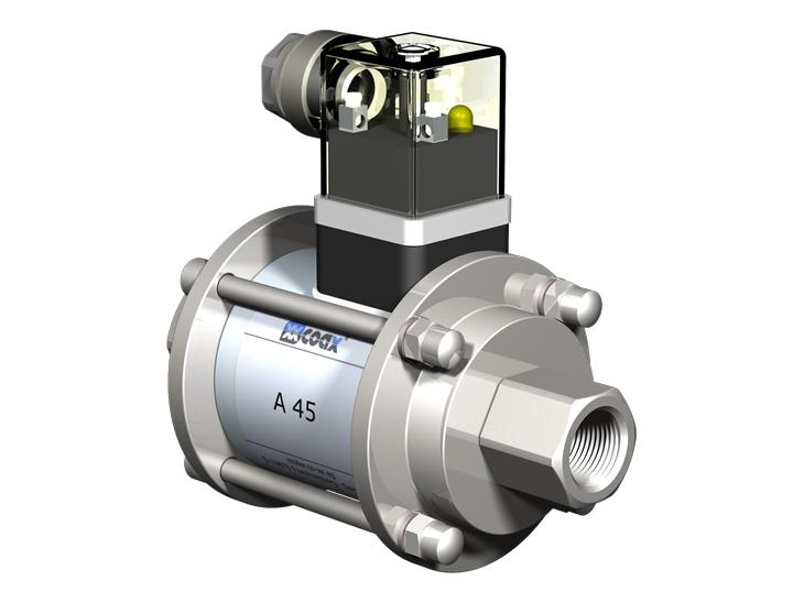 Co-ax A   Kb   Kbs High Pressure Coaxial Valves - Direct acting valves