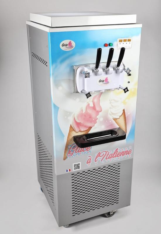 Machine à glace à l'italienne sur roulettes FC02 -