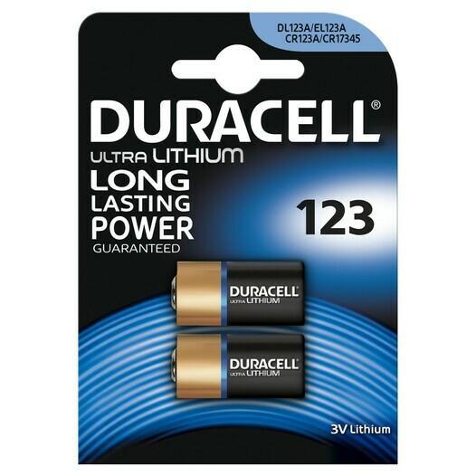 Duracell Ultra Lithium-Batterie 123, 3 Volt, 1600mAh - null