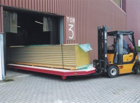Forklift Tender System type STS - Optimizes logistics using forklifts, shortens journeys and reduces costs