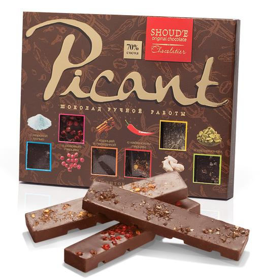 Chocolate bars «Picant»