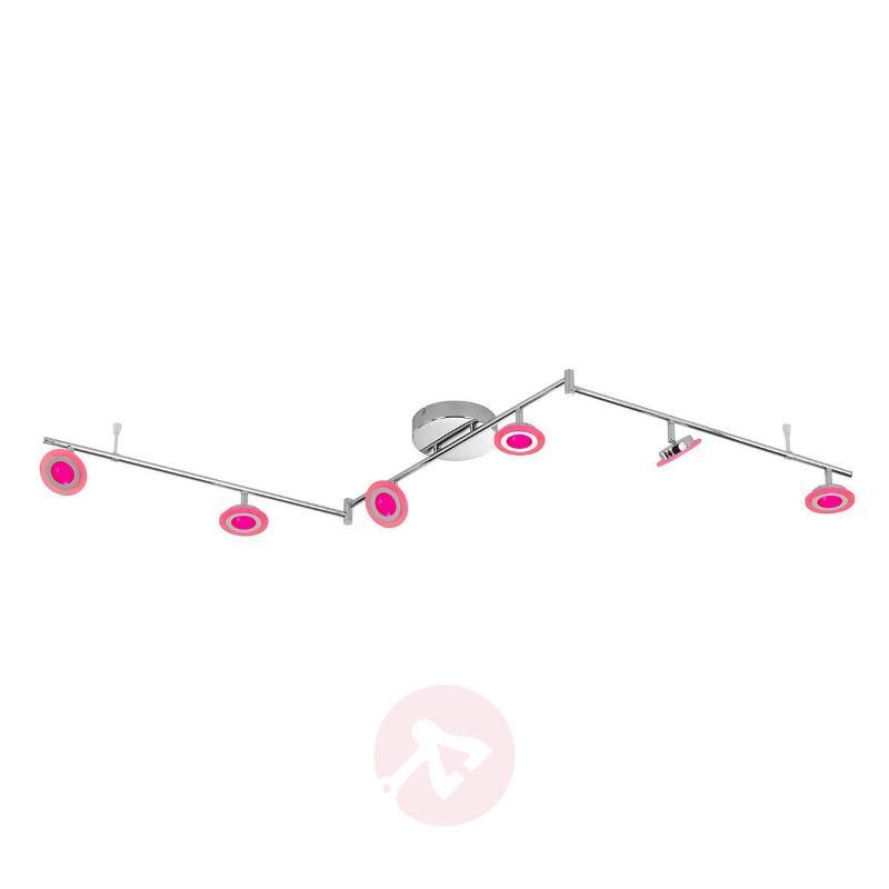Functional Gemma 6-bulb LED ceiling light - Ceiling Lights