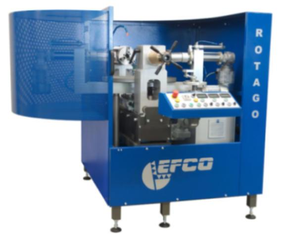 Stationary ball valve lapping machine - EFCO ROTAGO
