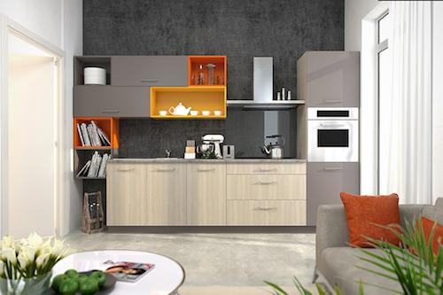 Fitted kitchen -