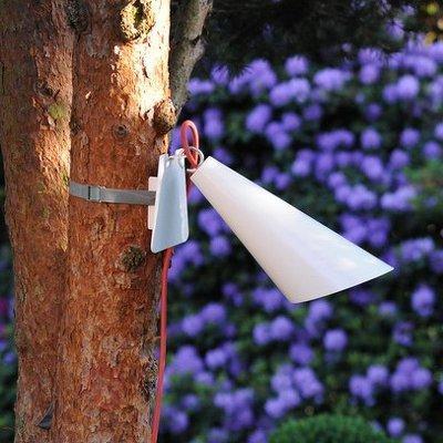 Luminaire extérieur Pit Out sangle blanc - Lampes décoratives d'extérieur