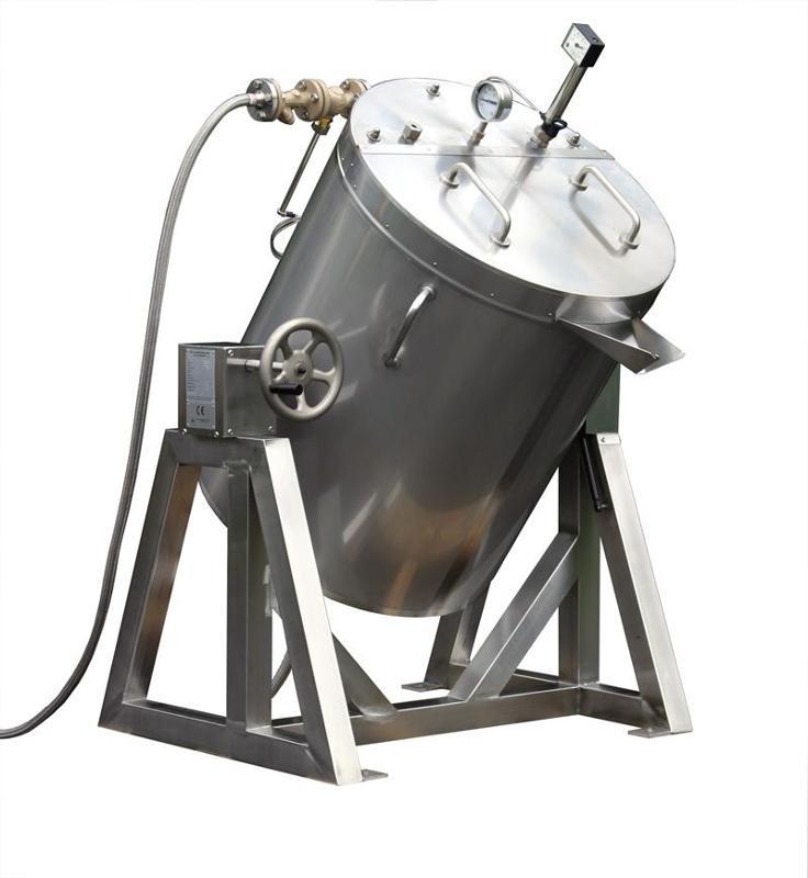 Heated agitator vessels & melting equipment - Heated mixing