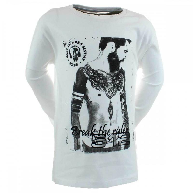 12x T-shirts manches longues RG512 du S au XL - Tous les produits