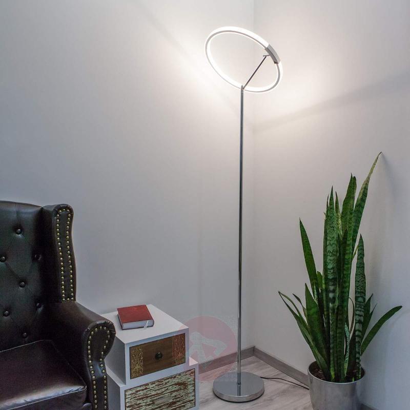 Powerful Anelia LED floor lamp - Floor Lamps