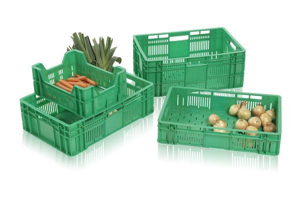 Stapelbehälter für Obst und Gemüse -