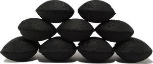 Charcoal briquettes - Pillow shaped birch charcoal briquettes