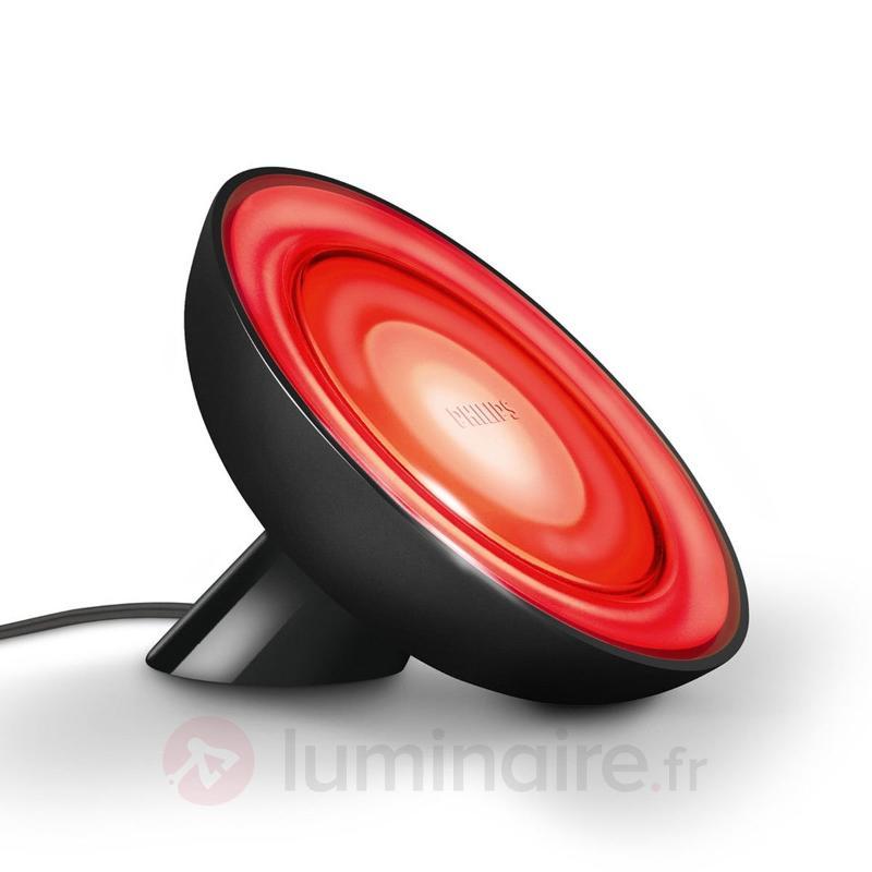 Lampe à poser LED Living Colors Bloom noire - Lampes à poser LED