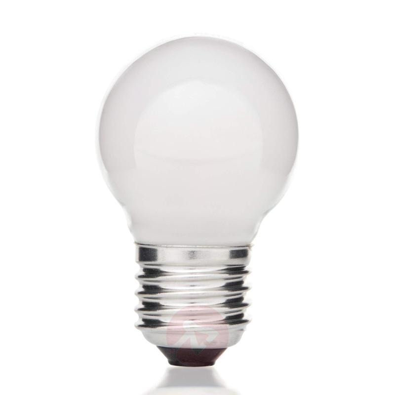 E27 4 W 827 LED golf ball bulb, matt on the inside - light-bulbs