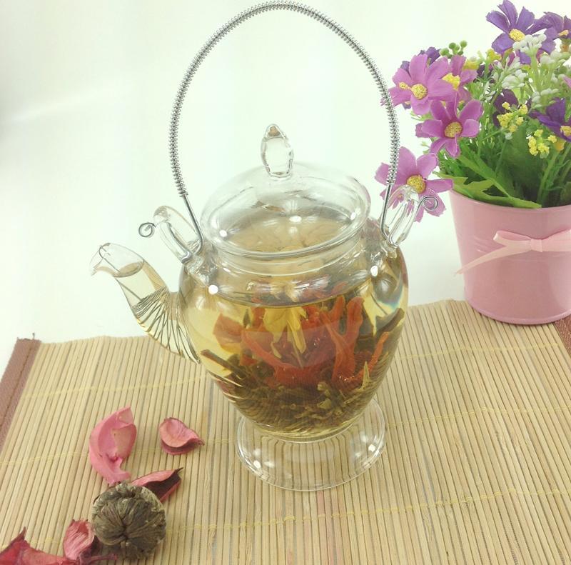 European style glass teapot - 450 ML