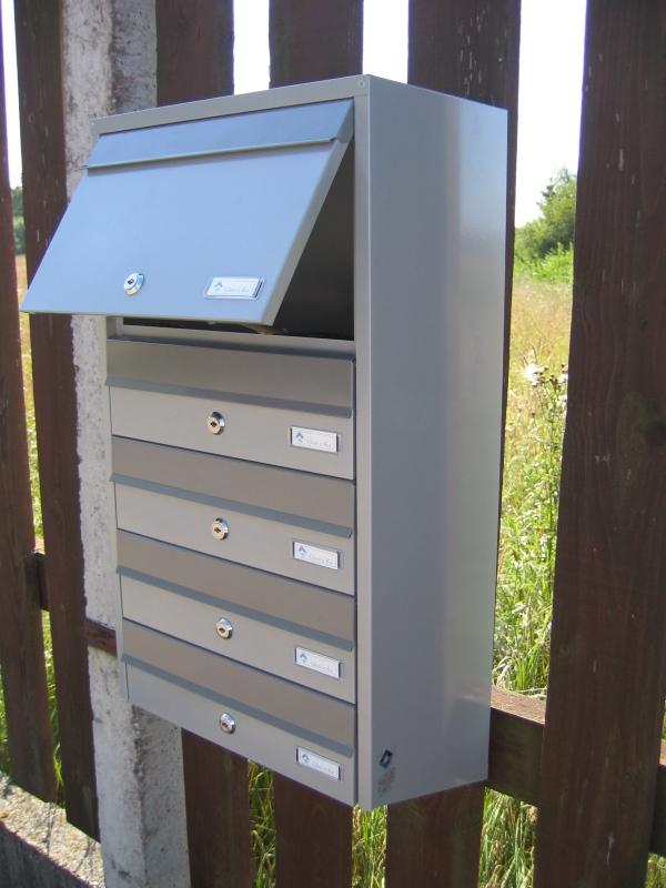 Apartment post boxes - Metal letterbox