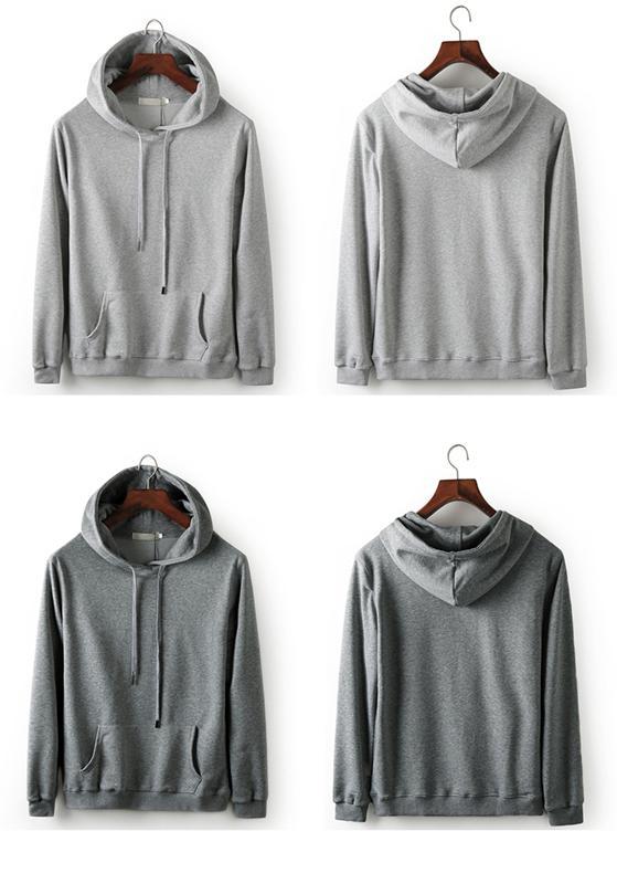 Hooded pullover for men