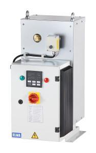 Compact flow heater oil