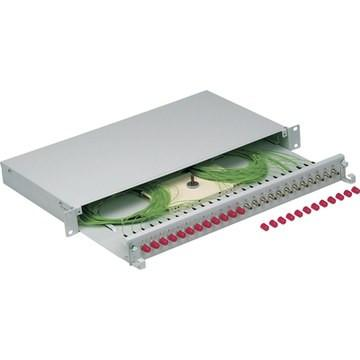 Fiber optic splice boxes - Splice boxes for ST, SC or compact version available