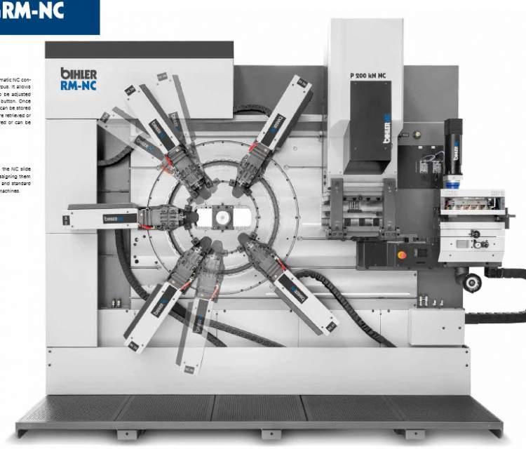 Servo-Stanzbiegeautomat - RM-NC - Servo-Stanzbiegeautomat RM-NC für kleine und mittlere Losgrößen