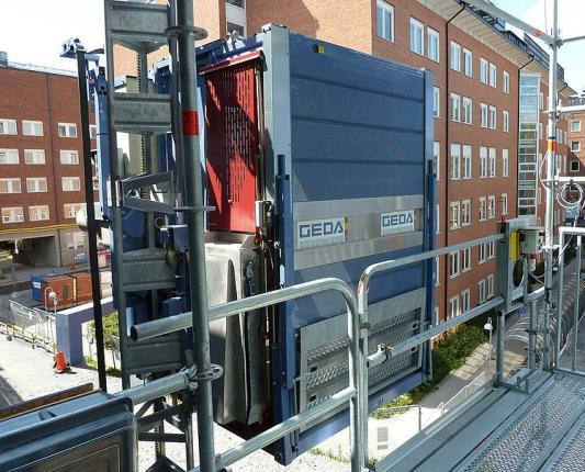 GEDA MULTILIFT P6 - GEDA MULTILIFT P6 - Personnel and Material Hoists