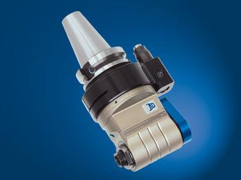 Input coolant from stop-block, and output through tool spindle. - TA16.PD