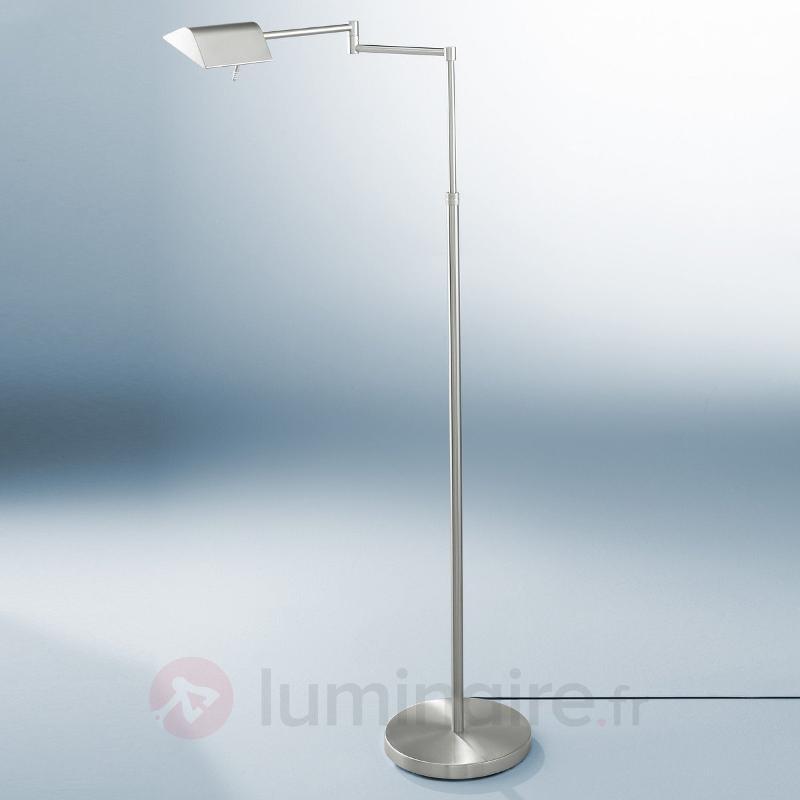 Lampadaire CLARIS à deux ampoules indépendantes - Lampadaires LED