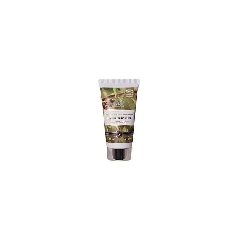 Crème Mains Laurier D'alep Certifiée Cosmos Organic - 30ml - Crème mains bio