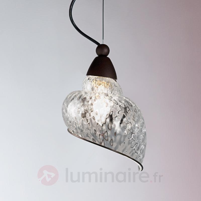 Chiocciola - suspension à une lampe - Suspensions design