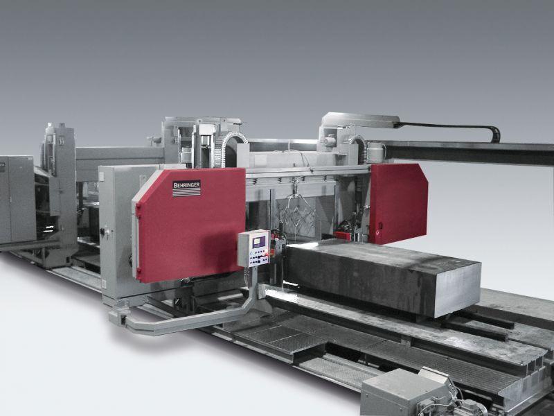 Großbandsäge - GANTRY-Maschine - Kraftpakete in Bewegung