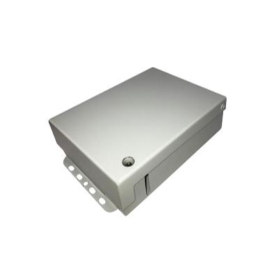Optical subscriber cabinet Gnom-2 - Designed for installation in hallways and staircases. Is used for PON networks i