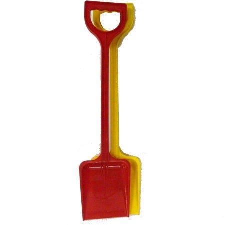Espada de playa plástica de 53cm - Cubeta y pala
