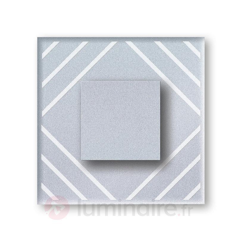 Motifs lignes - Applique LED Cristal IP44 - Appliques LED