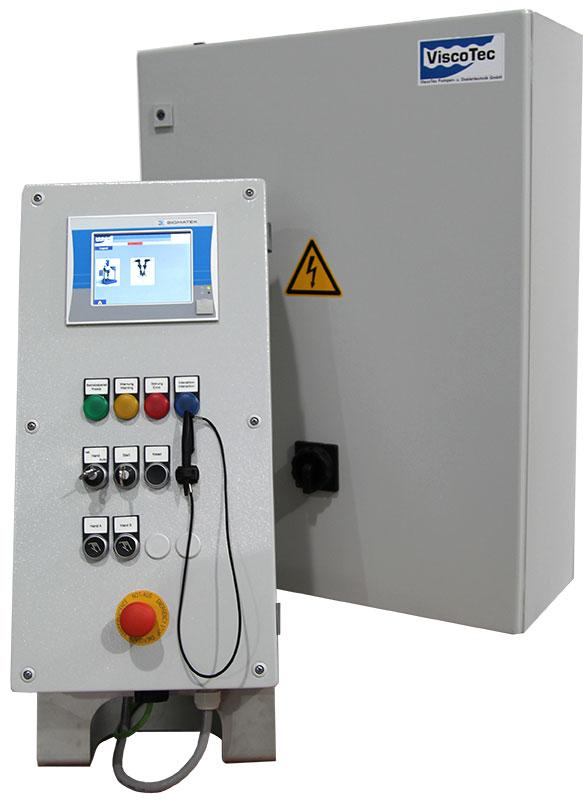 ViscoDos-4000-2K Touch | Pump Control - Microprocessor control with display