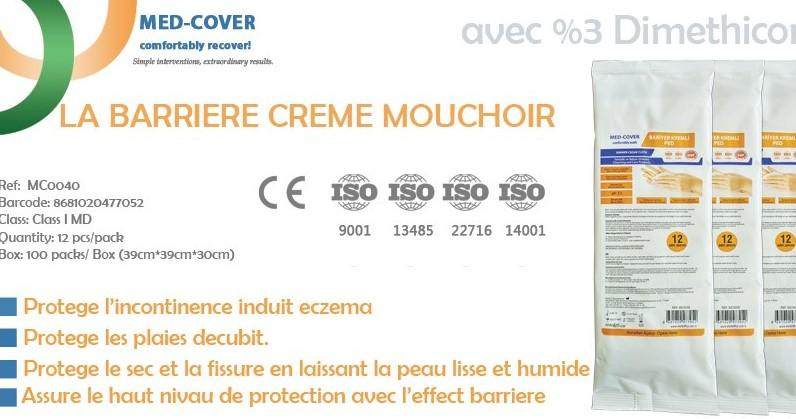 MED-COVER LE MOUCHOIR A LA BARRIERE CREME