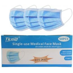 Masque Chirurgical 3 Couches Type I Bfe 95% - null