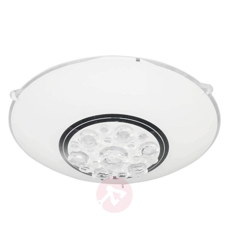 Noa LED ceiling light in white - Ceiling Lights