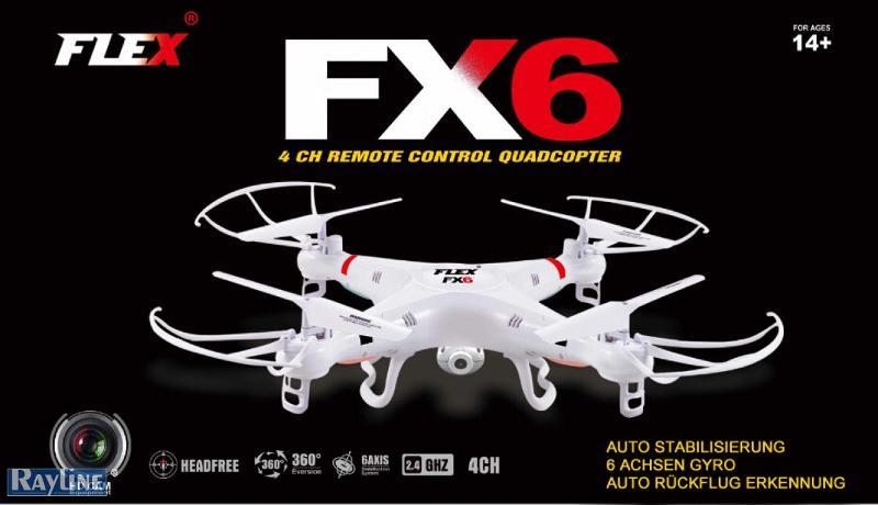 RC Ware anderer Hersteller RC Quadrocopter - FX6