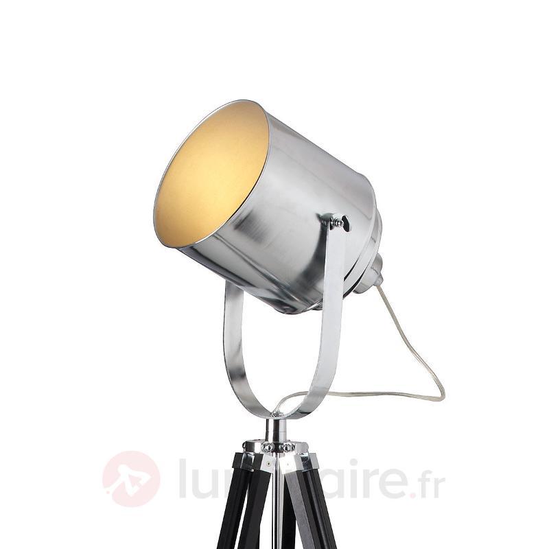Lampadaire à spot sur trépied METTLE - Tous les lampadaires