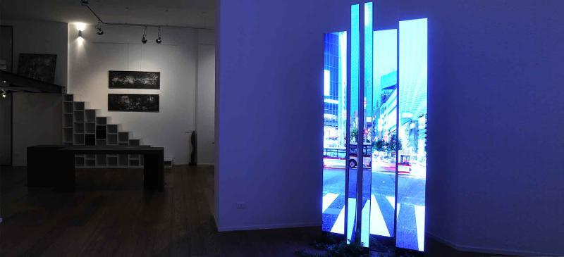 ADASTRA – Strisce di display a led ultrasottili per fissaggio a muro - null