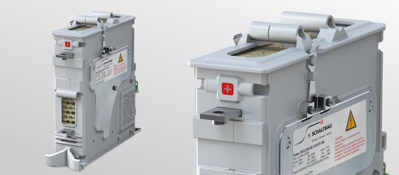 Single pole high-voltage contactor
