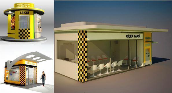 City Mobiliar / Städte Furniture / Städte Mobiliar