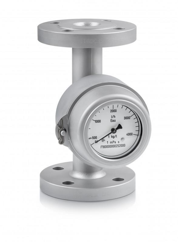 DW 182 - Contrôleur de débit mécanique / pour liquide / max. 300 °C